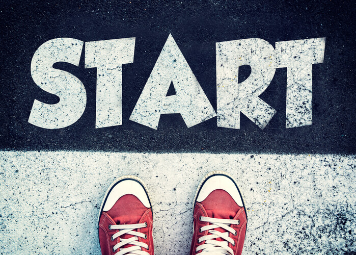 Why it's better to start than be perfect » Sorted